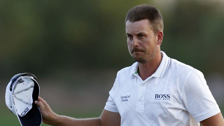 Henrik Stenson: Is gunning for victory in Dubai
