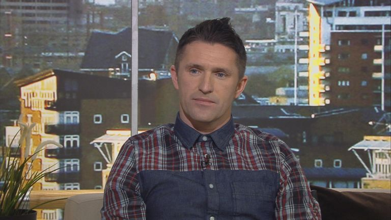 Keane keen on Keane: Ireland striker Robbie praised new assistant Roy
