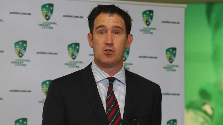 James Sutherland: Defended decision to tour India