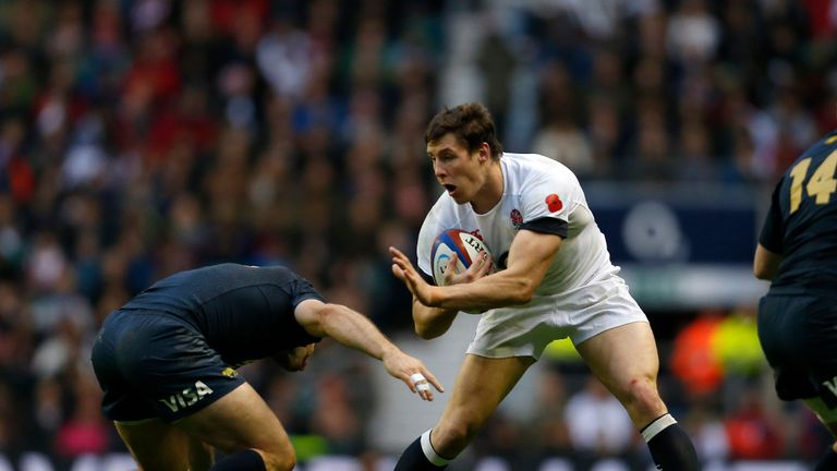Joel Tomkins: injured on England duty