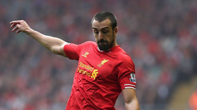 Jose Enrique: Glad to be back in training with Liverpool