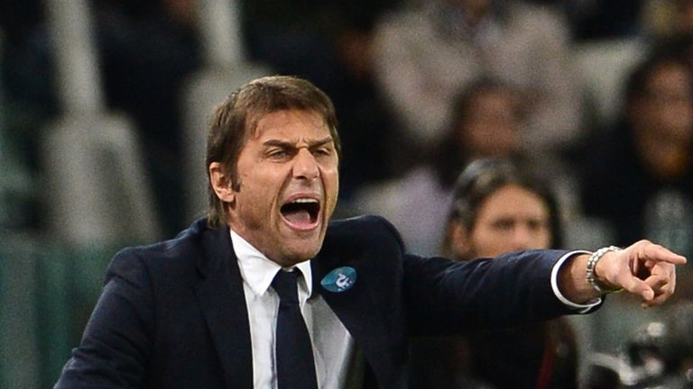 Antonio Conte: Proud of his Juventus players