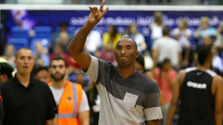 Kobe Bryant will be with the LA Lakers until at least 2016