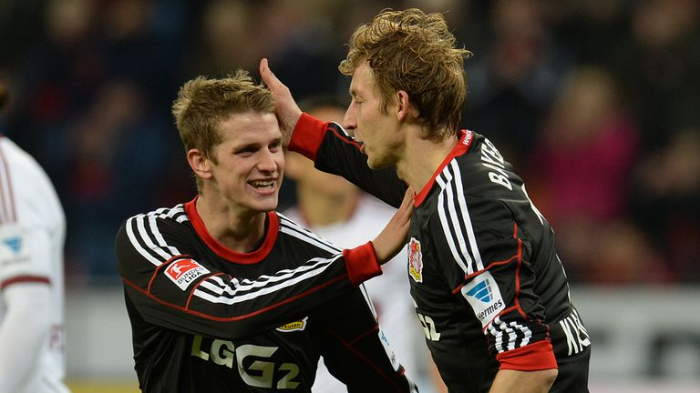 Lars Bender: Gave Leverkusen the lead at Freiburg