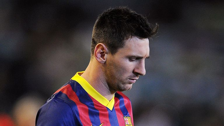Lionel Messi: Barcelona star's management team have denied reports of a fall-out with the club's medical staff