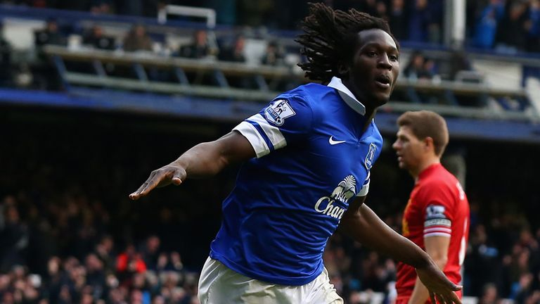 Romelu Lukaku: Everton stiker added to his goal tally against Liverpool