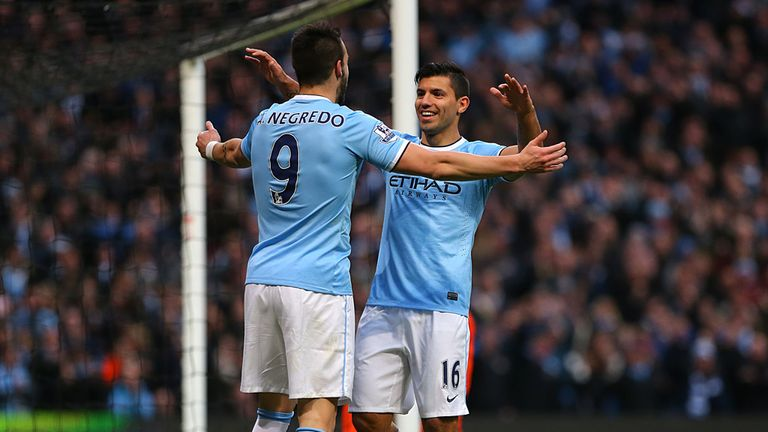 Alvaro Negredo & Sergio Aguero: Deadly strike duo