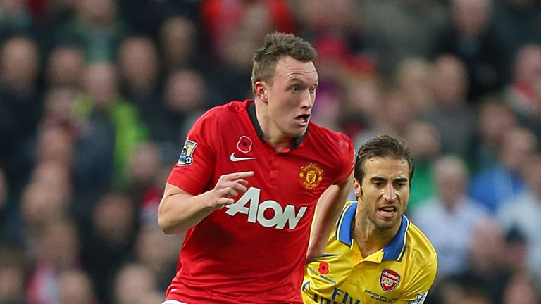 Phil Jones: Wants to be a centre-half at Manchester United