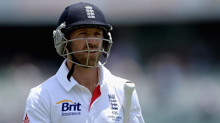 Matt Prior: Injured keeper to have scan on 'tweaked' calf