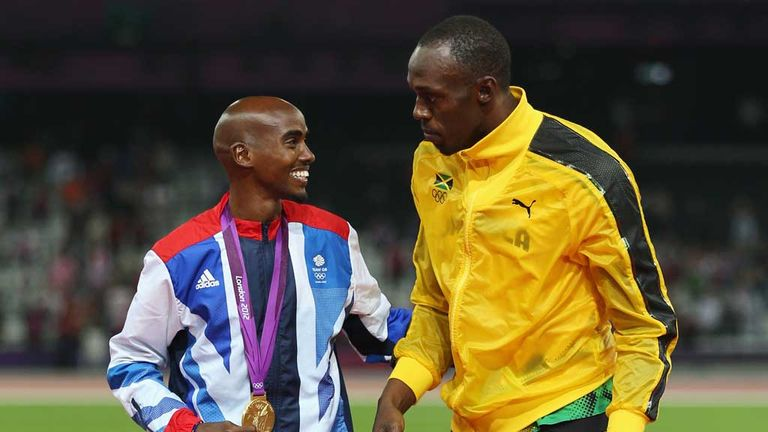 Mo Farah and Usain Bolt: Yet to commit to Commonwealth Games