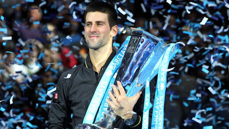 Novak Djokovic, champion at the O2 Arena in 2012, says it is time for the World Tour Finals to move to another city