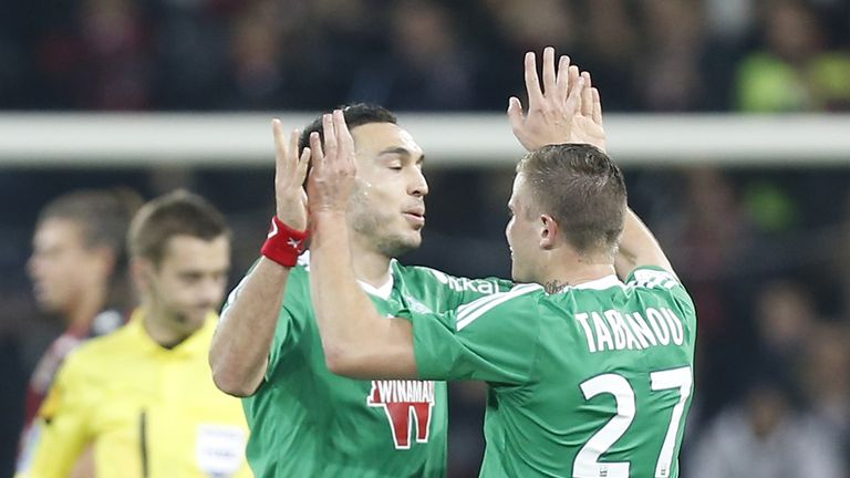 Mevlut Erding: On the scoresheet for St Etienne