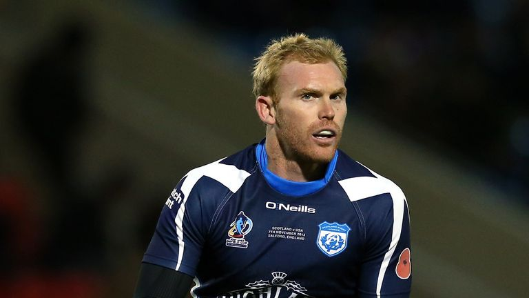 Peter Wallace: Keen to keep on playing for Scotland