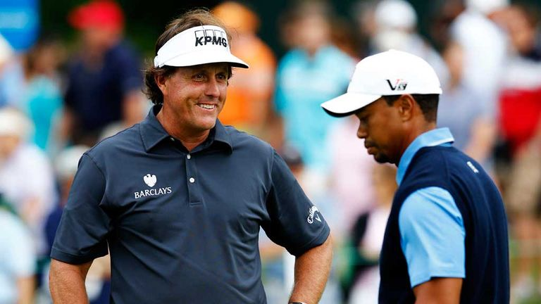 Phil Mickelson and Tiger Woods: The great Americans will go head-to-head from Thursday