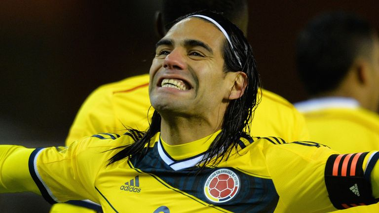 Radamel Falcao: In upbeat mood