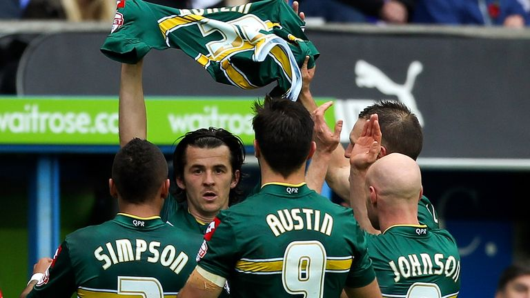 Joey Barton: Scored a late equaliser for QPR