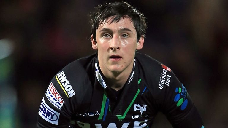 Sam Davies: Handed his first PRO12 start by Ospreys
