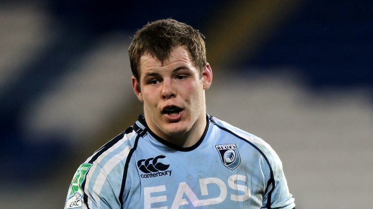 Sam Hobbs: scored the winning try for the Blues