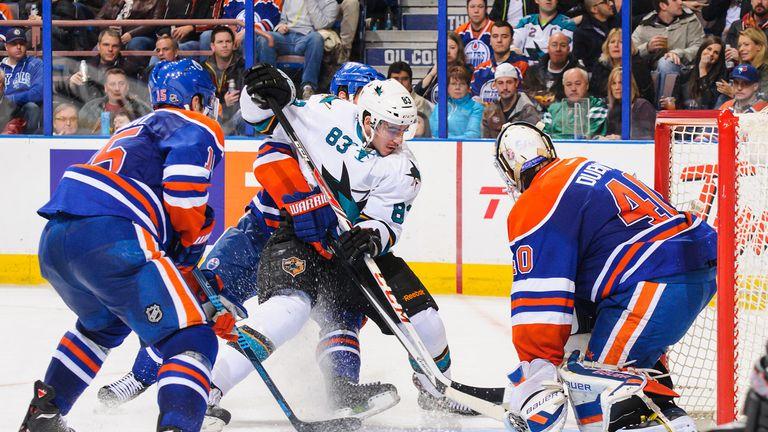San Jose Sharks beat Edmonton 3-1 to stretch their winning streak to three games