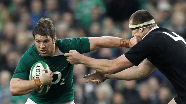 Sean O'Brien: Set to miss Six Nations