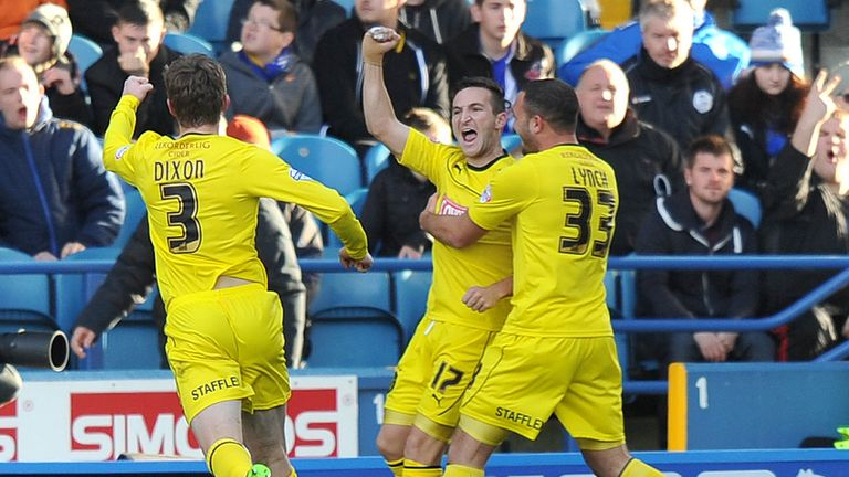 Martin Paterson: Celebrates strike at the weekend