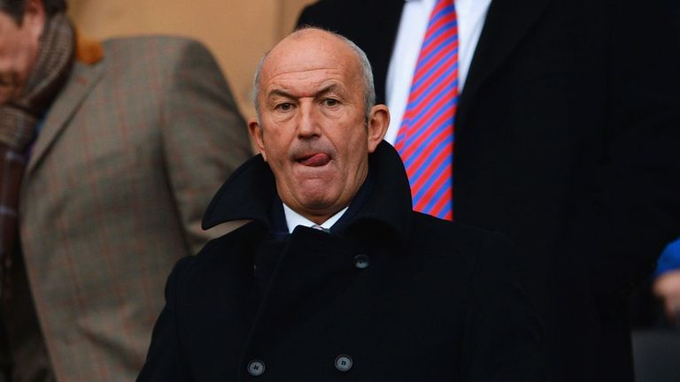 Tony Pulis: Has issued a swift warning to his Crystal Palace squad