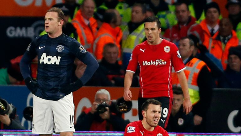 Wayne Rooney: Concedes he was at fault following tackle on Jordon Mutch