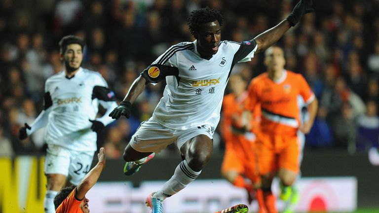 Wilfried Bony: Swansea striker has goals target set