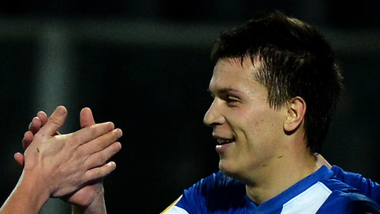 Yevhen Konoplyanka: Scored for the hosts