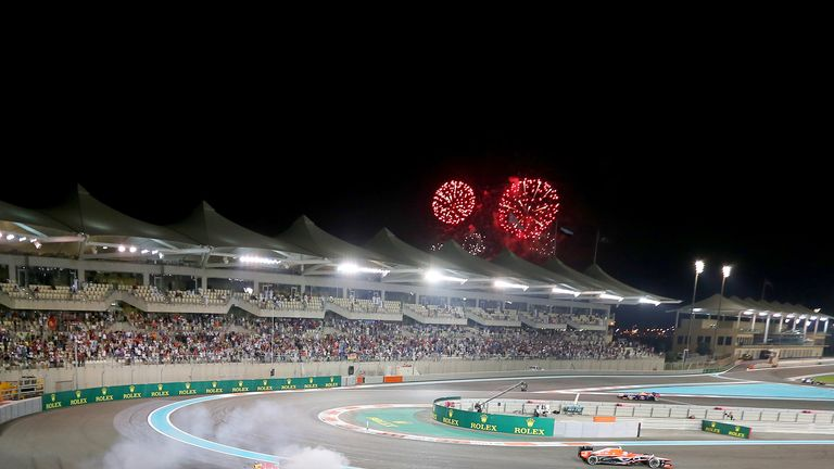 Double points at next season's finale in Abu Dhabi