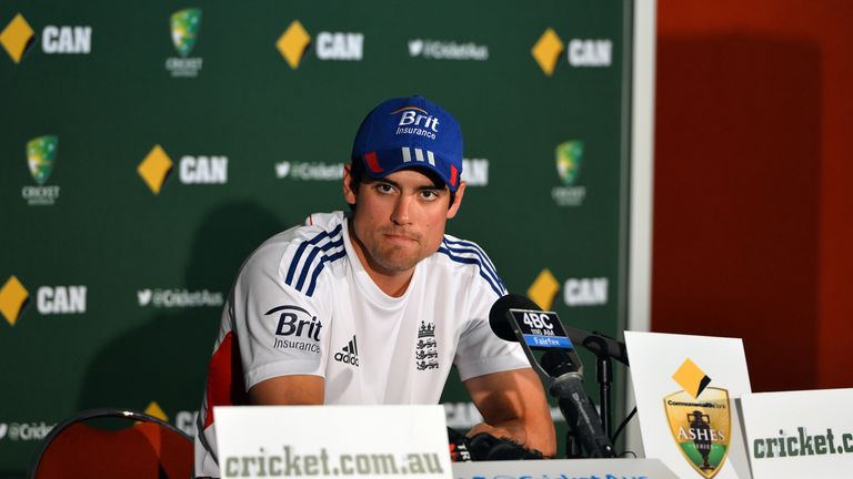 Alastair Cook: England captain has no fear about playing at the Gabba