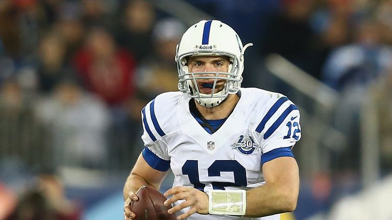 Andrew Luck: Indianapolis Colts quarterback finished with 232 passing yards