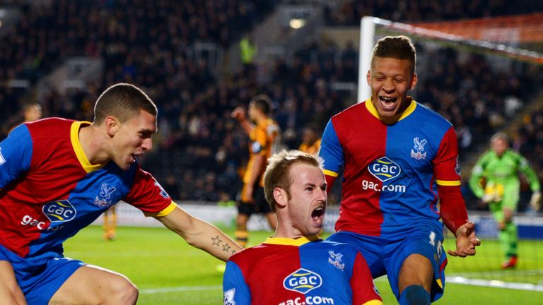 Barry Bannan: Fired home the winner for Crystal Palace