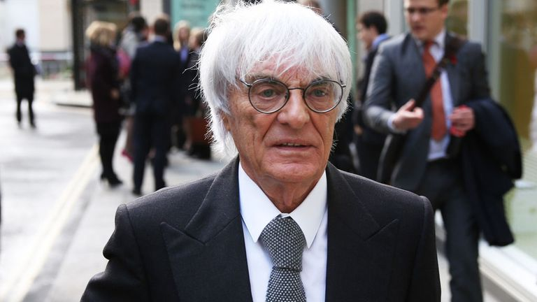Bernie Ecclestone: Has stepped down from the board of F1