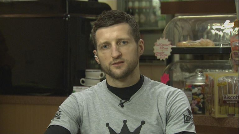 Carl Froch: Has not been impressed with the behaviour of his opponent in the build-up