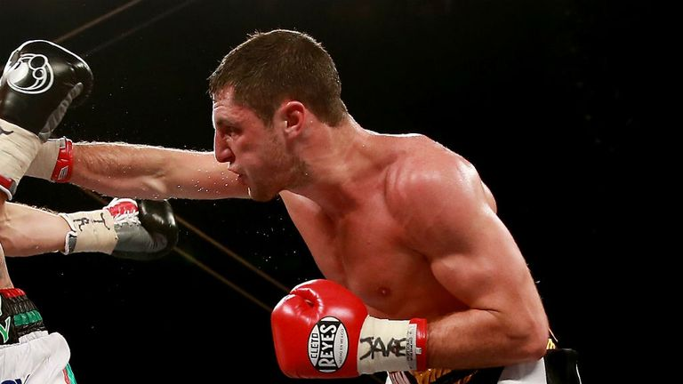 Tommy Coyle: Stopped veteran Scot John Simpson in the seventh