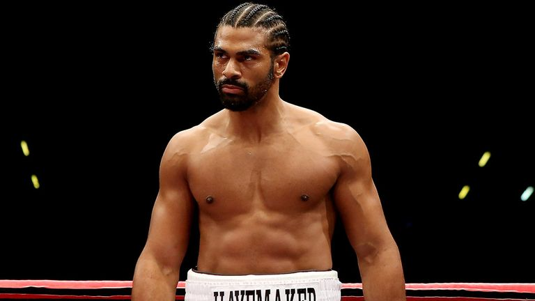 David Haye: Excited about Froch against Groves