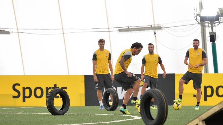 Tevez, Llorente, Barzagli and Quagliarella face football's toughest challenge
