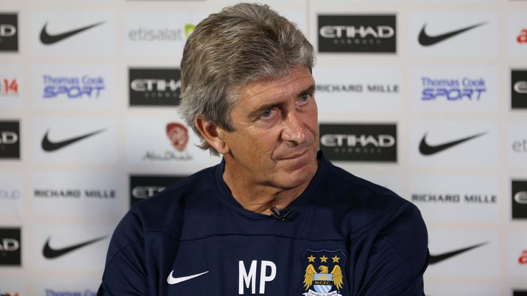 Manuel Pellegrini: Apologises for outburst