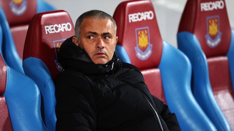 Jose Mourinho: Saw his side get back to winning ways at West Ham