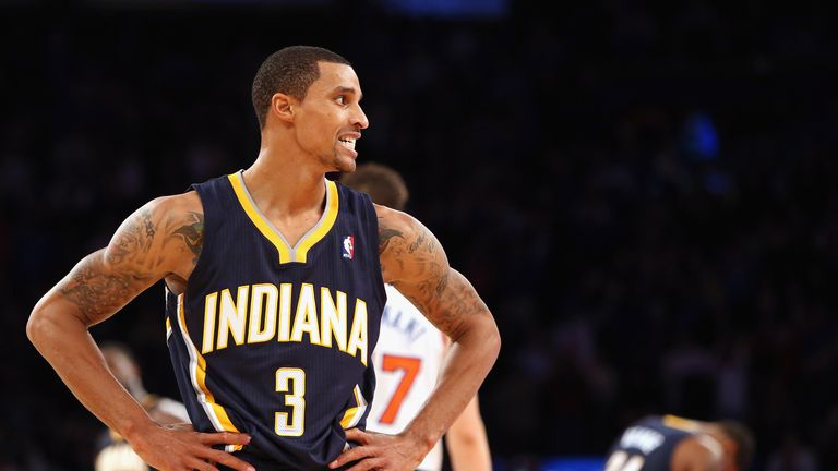 George Hill: Scored 26 points for the Pacers