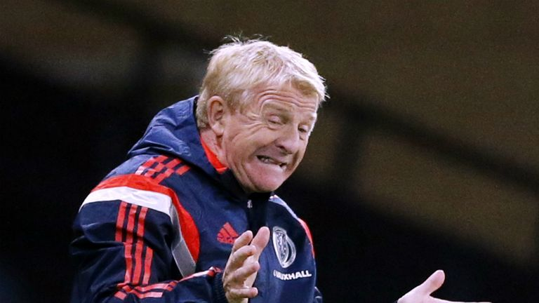 Gordon Strachan: Believes Scotland are progressing