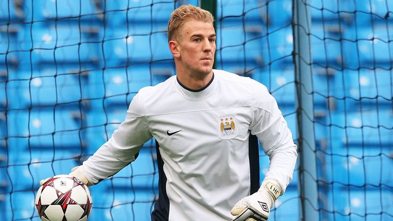 Joe Hart was recently dropped by Manchester City