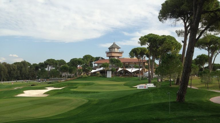 The impressive Montgomerie Maxx Royal golf course in Antalya hosted last week's event