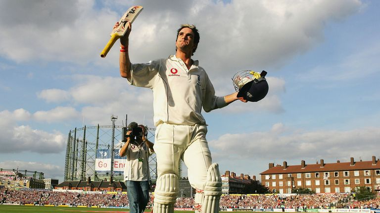 Kevin Pietersen: Ashes-clinching innings at The Oval in 2005
