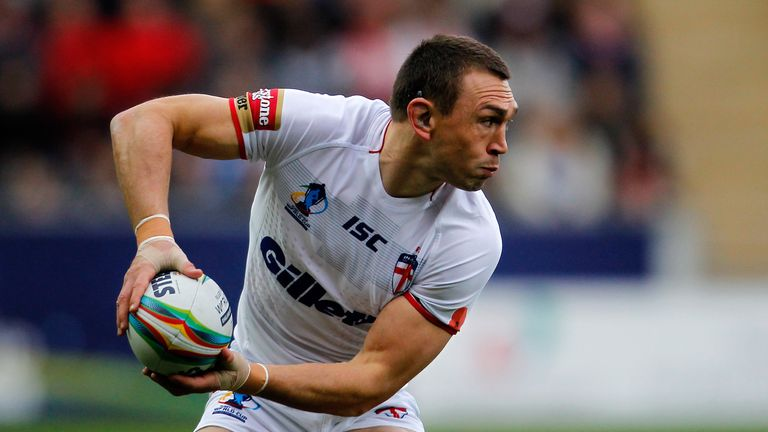 Kevin Sinfield: Leeds skipper has decided the time is right to end his international career
