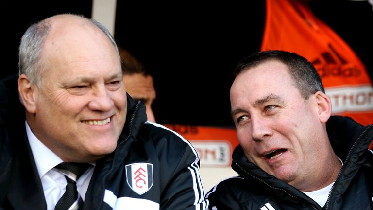 Martin Jol and Rene Meulensteen: Dutch allegiance bring Craven Cottage confidence