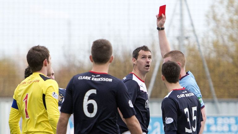 Rangers: Progressed to the fifth round of the Cup as David McCracken saw red for Falkirk