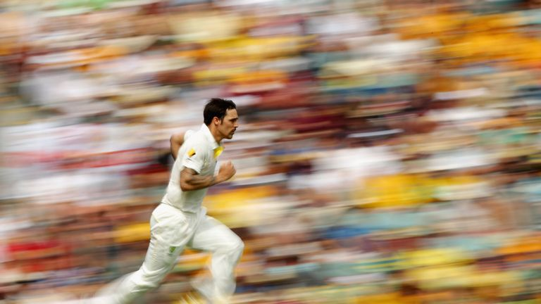 Mitchell Johnson: Australia fast bowler claimed four wickets in quick time on day two