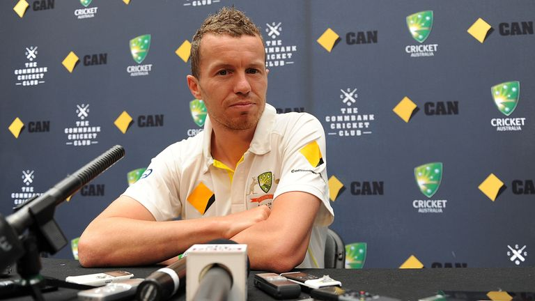 Peter Siddle: Relishing a tough contest against England